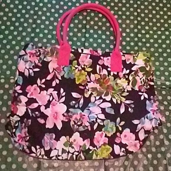 Avon Handbags - Avon full bloom canvas tote bag